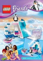Lego Penguin's Playground - 41043 (2014) - Turtle's Little Paradise 41043 B Model