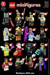 Lego LEGO® Minifigures, Series 8 - 8833 (2012) - LEGO® Minifigures, Series 2 BI. , 8833 V 29