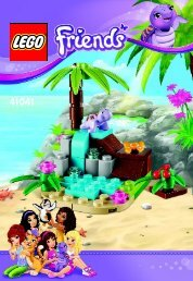Lego Turtle's Little Paradise - 41041 (2014) - Turtle's Little Paradise BI 3001/16 - 41041 V29