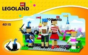 Lego LLP Entrance with Family - 40115 (2014) - Mini Sopwith Camel BI 3004