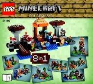 Lego Crafting Box - 21116 (2014) - Micro World - The Forest BI 3017 / 72+4 - 65/115g, 21116 B1/2 V29