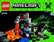 Lego The Cave - 21113 (2014) - Micro World - The Forest BI 3018/48/65g, 21113 V29