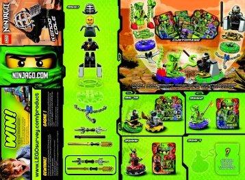 Lego Kendo Cole - 9551 (2012) - Destiny's Bounty BI 2002/ 2 - 9551 V29, V110