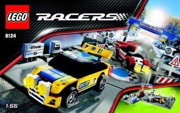 Lego Ice Rally - 8124 (2008) - Street Chase BI, 8124