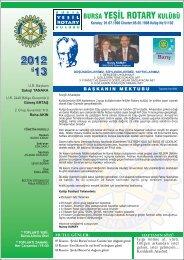Barış - Rotary 2440.Bölge