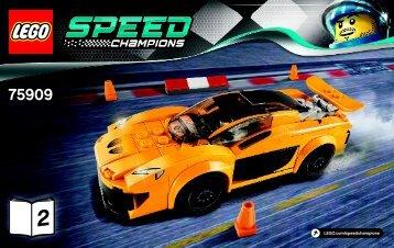 Lego McLaren P1™ - 75909 (2015) - LaFerrari BI 3003/32-75909 V29 2/2