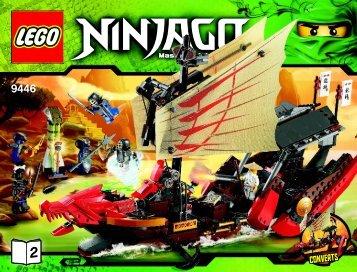 Lego Destiny's Bounty - 9446 (2012) - Destiny's Bounty BI 3019/80+4*- 9446 V39 2/2