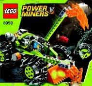 Lego Power Miners - 66319 (2009) - Power Miners BI 3005/48 - 8959