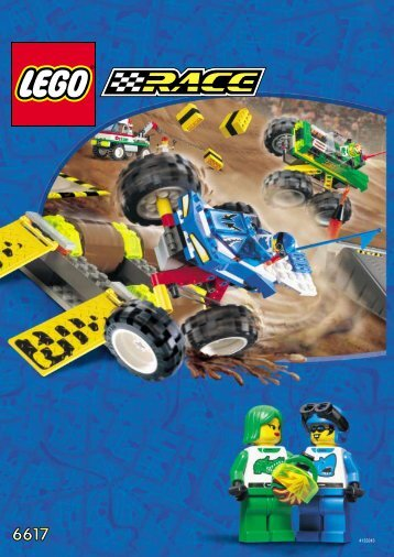 Lego Truck Rally - 6617 (2000) - Speed Computer BUILD.INST. FOR 6617
