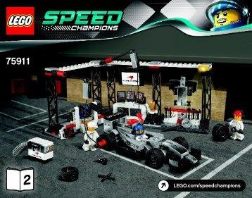 Lego McLaren Mercedes Pit Stop - 75911 (2015) - LaFerrari BI 3018/48/65g - 75911 V39 2/2