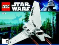 Lego Imperial Shuttle™ - 10212 (2010) - Ultimate Collector's AT-ST™ BI 3009/80+4 10212 V.46/39 2/4