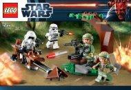 Lego Endor™ Rebel Trooper™ & Imperial Trooper - 9489 (2012) - Plo Koon's Jedi Starfighter™ BI 3010/32 - 9489 V 29/39