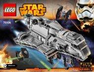 Lego Imperial Assault Carrier™ - 75106 (2015) - Millennium Falcon™ BI 3019/172+4/65+200G - 75106 V29