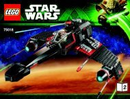 Lego Jek-14's ™ Stealth Starfighter - 75018 (2013) - Homing Spider Droid™ BI 3019/80+4*- 75018 V39 2/2