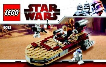 Lego Star Wars VP12 - 66368 (2010) - Star Wars VP5 BI 3004/48 - 8092 V 29