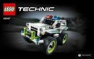 Lego Police Interceptor - 42047 (2015) - Race Truck BI 3004/52, 42047 V39