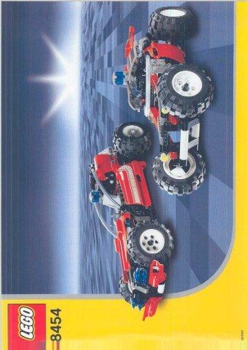 Lego Rescue Truck - 8454 (2003) - Front End Loader BI, 8454/2