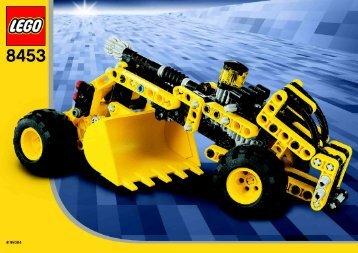 Lego Front End Loader - 8453 (2003) - Front End Loader BI  8453/2