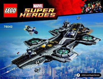 Lego The SHIELD Helicarrier - 76042 (2015) - Ant-Man Final Battle BI 3019/440+4/65+200g 76042 V29