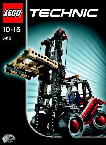 Lego Forklift - 8416 (2005) - Off Roader BI, 8416/1
