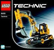 Lego Excavator - 8419 (2005) - Off Roader BI 8419 -1