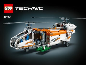 Lego Heavy Lift Helicopter - 42052 (2016) - Heavy Lift Helicopter Tandem Rotor Helicopter