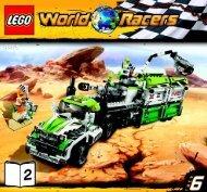 Lego Desert of Destruction - 8864 (2010) - Blizzard's Peak BI 3005/60+4- 8864 V39 2/3