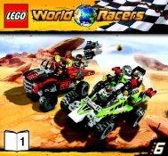Lego Desert of Destruction - 8864 (2010) - Blizzard's Peak BI 3005/64+4 - 8864 V29 1/3