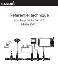 Garmin GPSMAP® 8500 Black Box - Référentiel technique pour les produits Garmin NMEA 2000