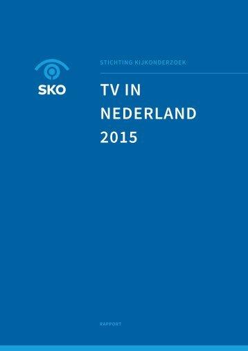 TV IN NEDERLAND 2015