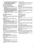 Makita Perceuse visseuse d'angle 10,8 V Li-ion 1,3 Ah Ø 10 mm à clé - DA330DWJ - Notice - Page 5