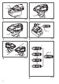 Makita Visseuse oléopneumatique 18 V Li-Ion 40 Nm (Machine seule) - DTS141Z - Notice - Page 2
