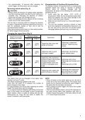 Makita Visseuse oléopneumatique 18 V Li-Ion 40 Nm (Machine seule) - DTS141Z - Notice - Page 7