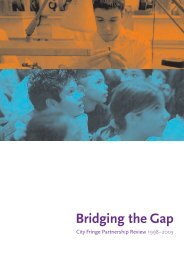 Bridging the Gap - City Fringe Partnership