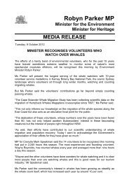 Minister recognises volunteers who watch over ... - NSW Government