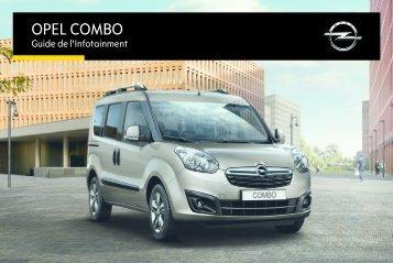 Opel ComboInfotainment System Année modèle 2015 - ComboInfotainment System  Année modèle 2015manuel d'utilisation