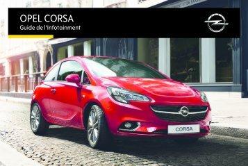 Opel CorsaInfotainment System Année modèle 2014 - CorsaInfotainment System  Année modèle 2014manuel d'utilisation