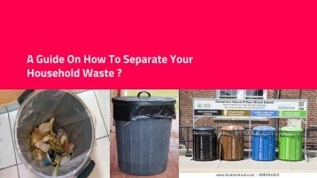 Domestic Waste Separation Guide