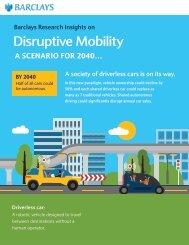 Disruptive Mobility