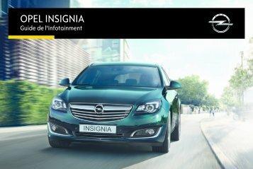 Opel InsigniaInfotainment System Année modèle 20151er semestre - InsigniaInfotainment System  Année modèle 20151er semestremanuel d'utilisation