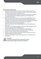 Bedienanleitung Beamer. - Page 7