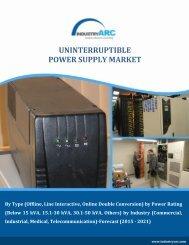 Uninterruptible Power Supply Market Size, Share | Industry Report, 2021