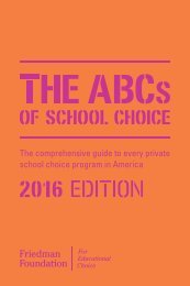 The comprehensive guide to every private school choice program in America
