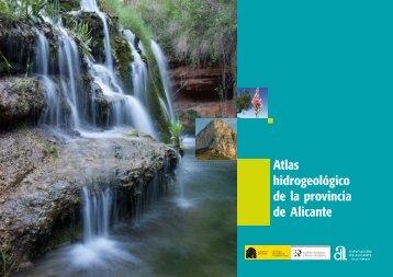 hidrogeológico de la provincia de Alicante