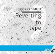 Reverting To Type by Gerry Smith