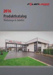 Folienlager Katalog 2016