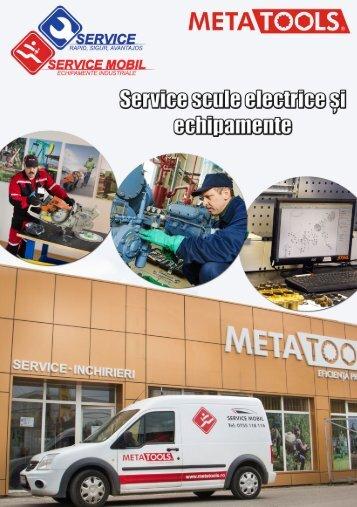 Service scule electrice și echipamente pentru construcții Metatools