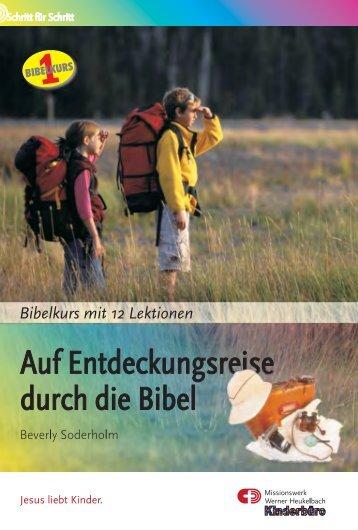 Auf Entdeckungsreise durch die Bibel