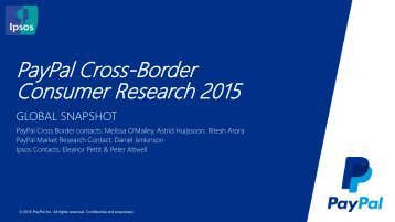 PayPal Cross-Border Consumer Research 2015