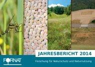 FORNAT Jahresbericht 2014